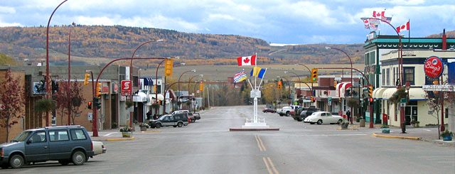 City of Dawson Creek, BC, Canada
